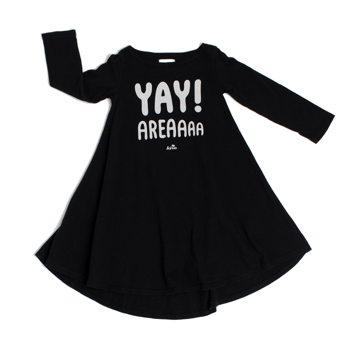 Yay Area Graphic T-shirt Dress, Black