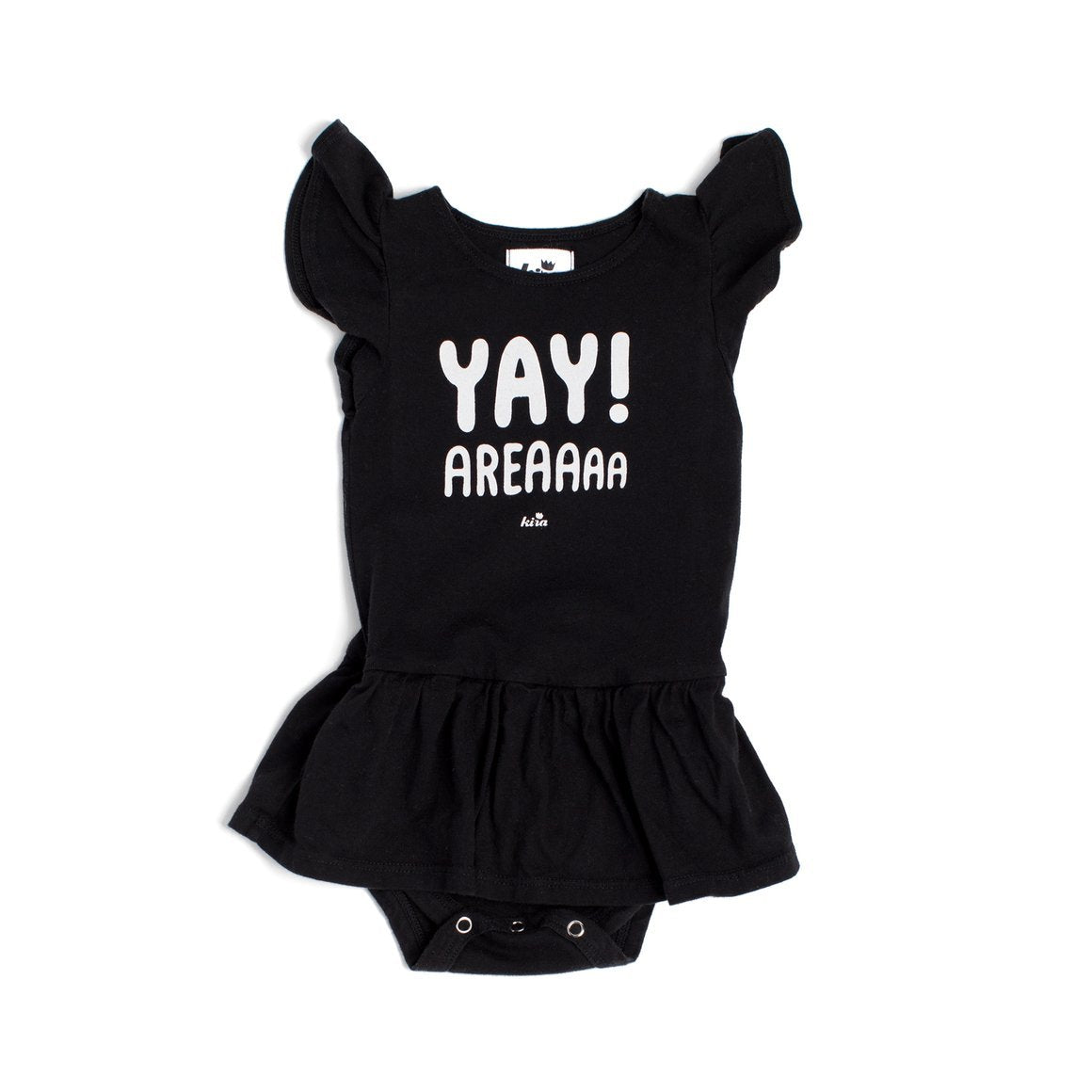 Yay Area Graphic Dress Onesie, Black