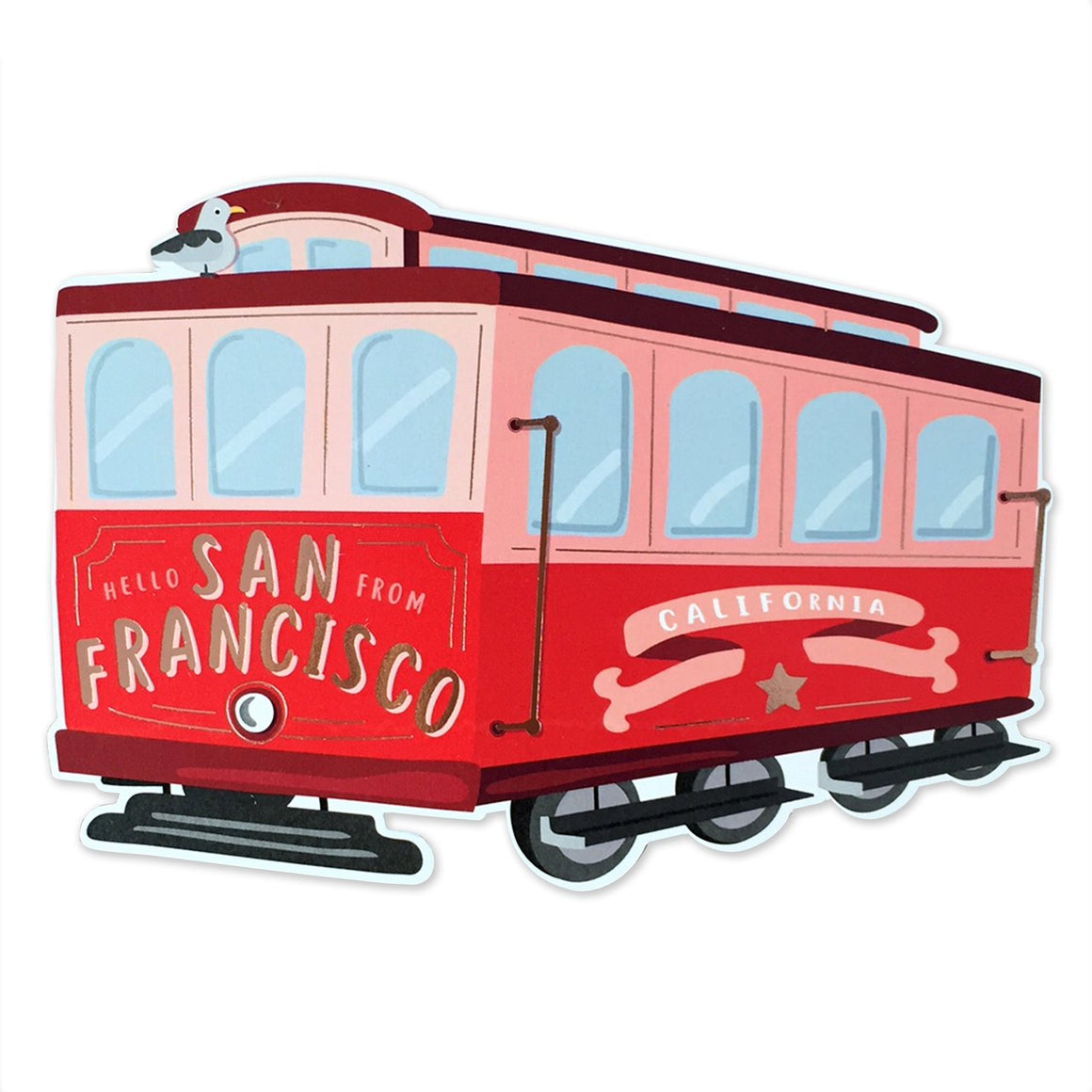 The Social Type: San Francisco Trolley Card