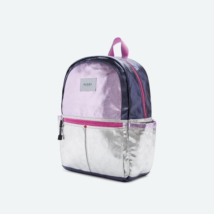 STATE Bags: Kane, Downtown, Pink/Silver