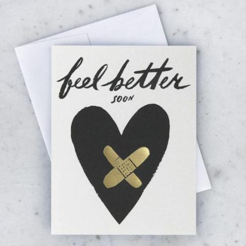 Idlewild Co: Bandaged Heart Card
