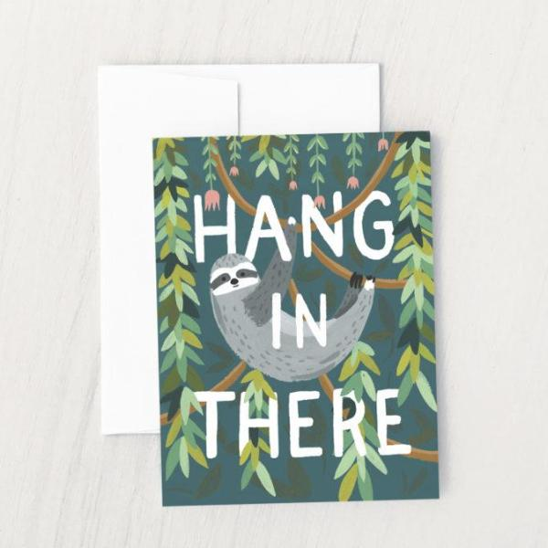 Idlewild Co: Hang in There Card