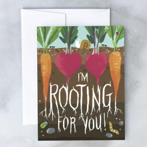 Idlewild Co: Rooting For You Card
