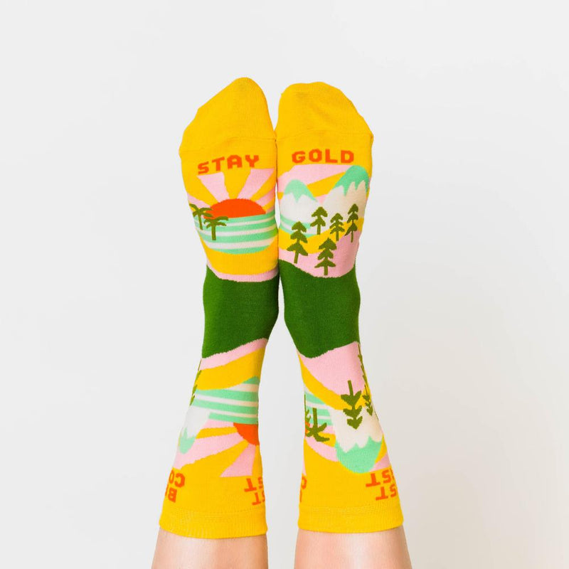 Yellow Owl Workshop: Best Coast Crew Socks