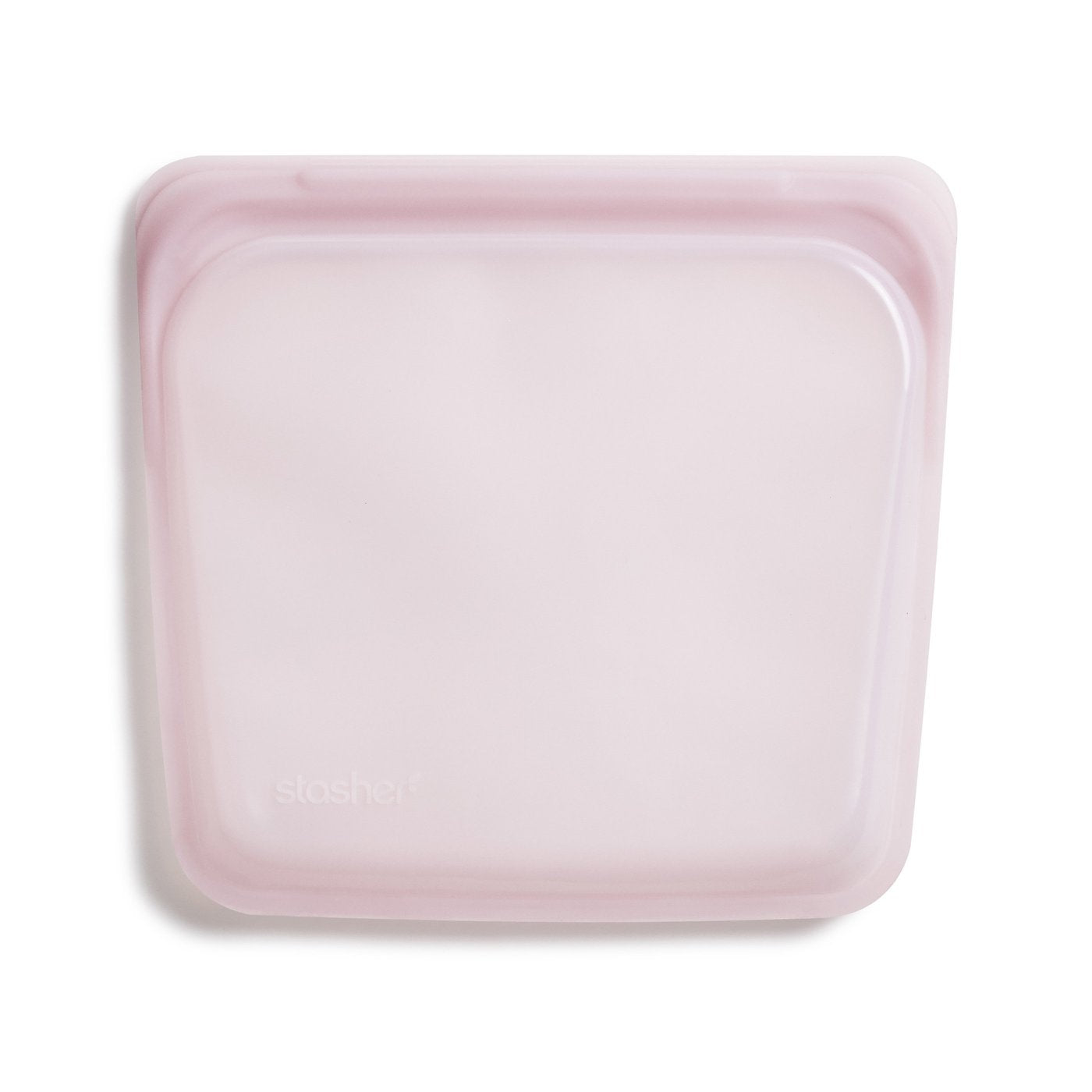 Stasher: Sandwich Bag - Rose Quartz