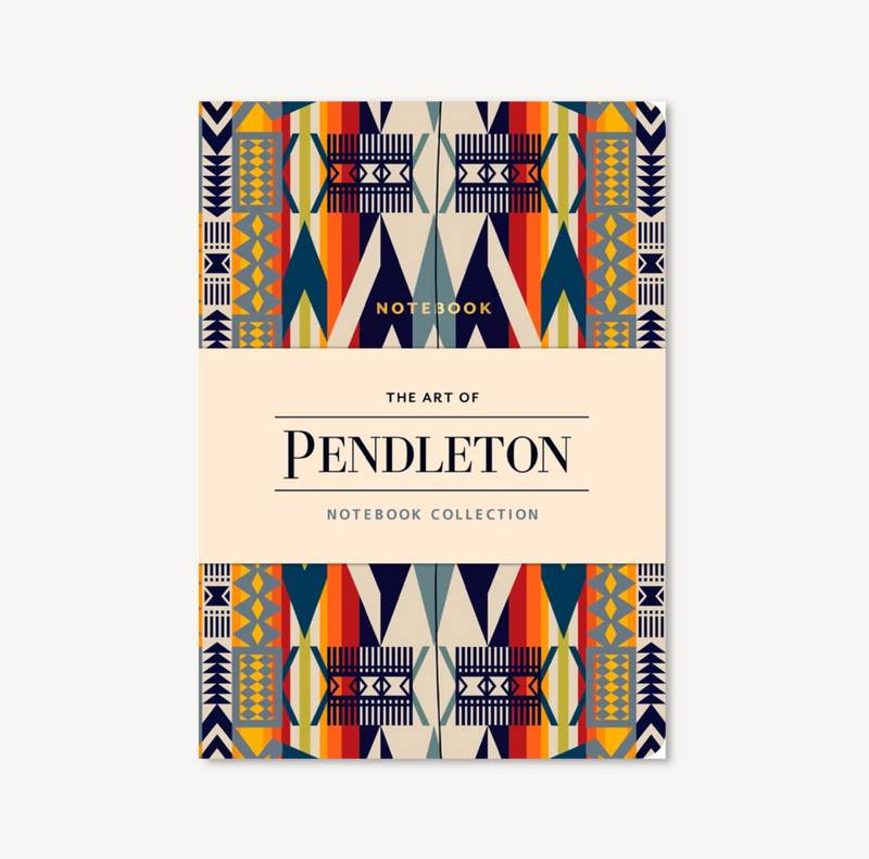 The Art of Pendleton Notebook, Set of 3
