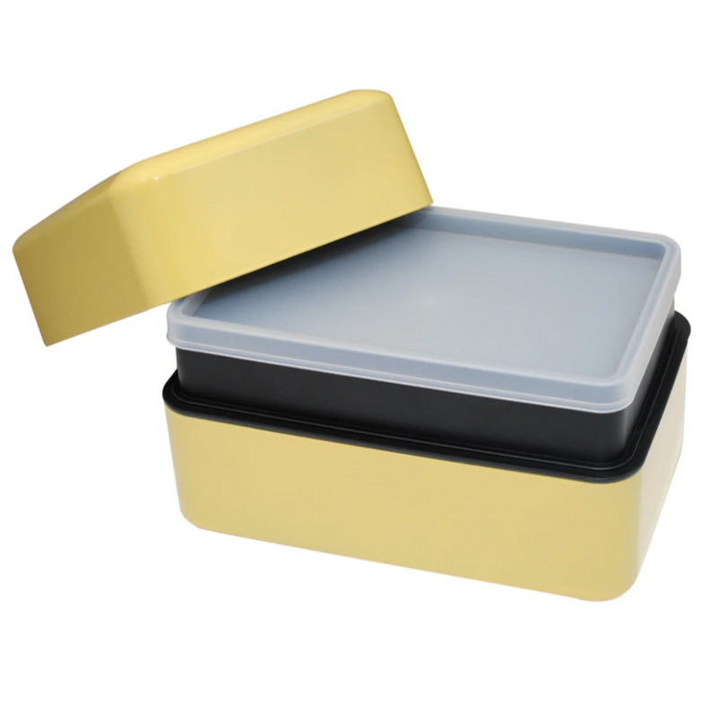 Takenaka Bento Box: Rectangle,  Lemon Zest