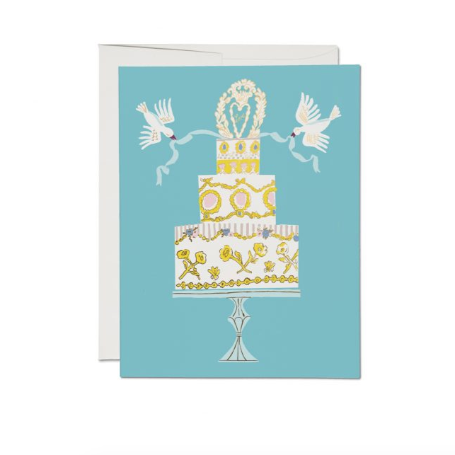 Red Cap Cards: Love Cake