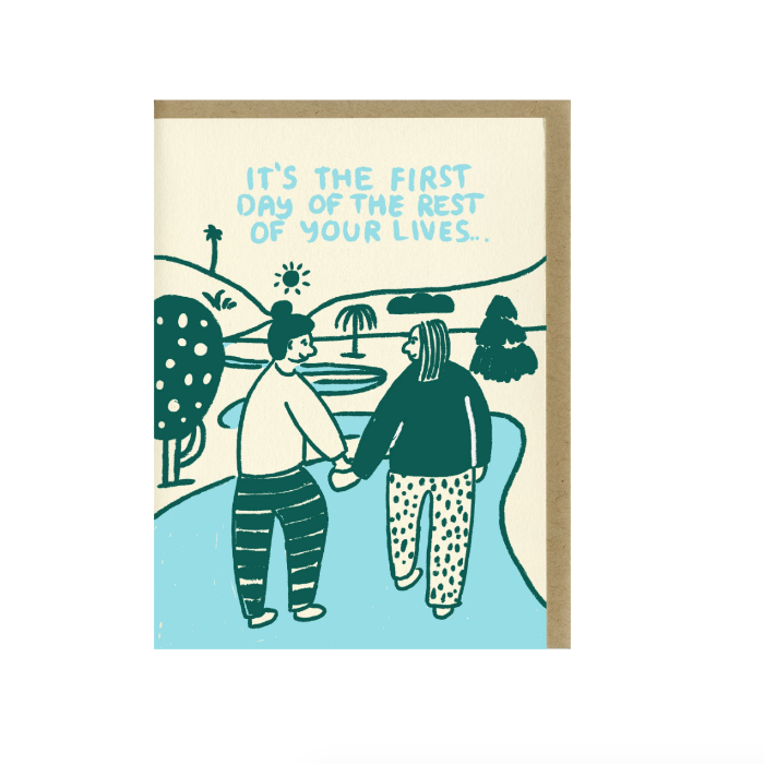 People I've Loved: The First Day Card