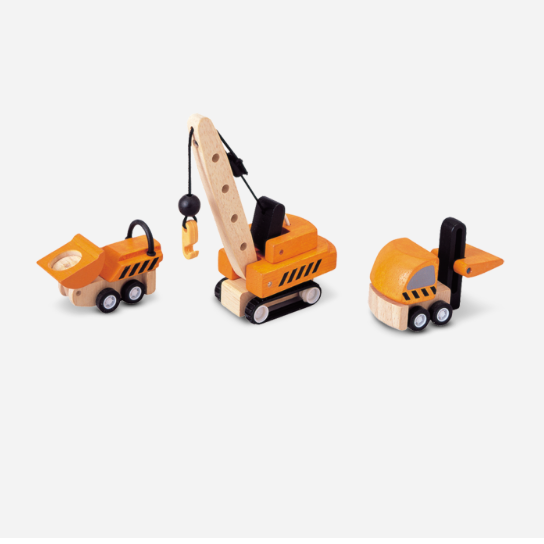 PlanToys: Construction Vehicles