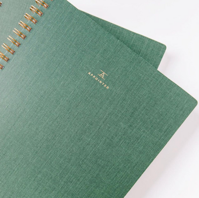 Appointed: Workbook, Fern Green, Dot Grid