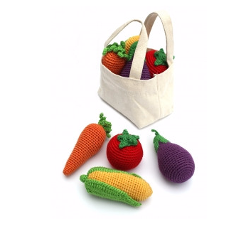 Cheengoo: Veggies Rattle Set