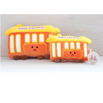 Tomoko Maruyama Design: Cable Car Plush Toy, Large