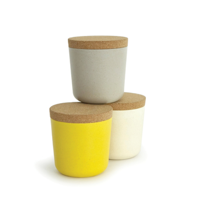 EKOBO: Bamboo Storage Jar Set, Sunrise