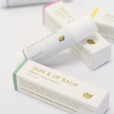 Yuzu Soap: CBD Mint - Skin/Lip Balm Stick