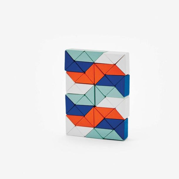 Areaware: Snake Blocks, Super (Red/Blue)