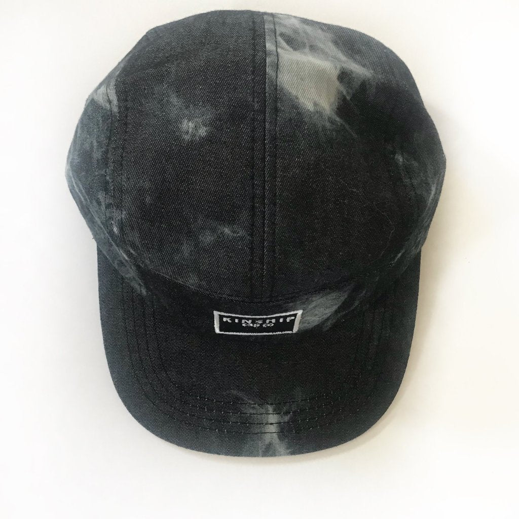 Kinship Cap Co: Acid Wash Denim 5-panel Cap