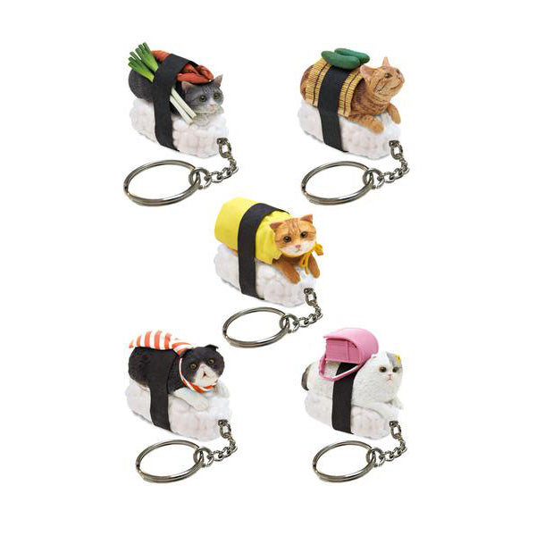 Clever Idiots Inc.: Sushi Cat Blind Box Figure #1