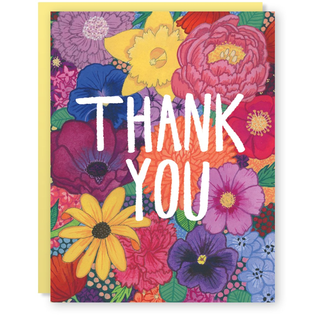Cactus Club: Thank You Flowers Card
