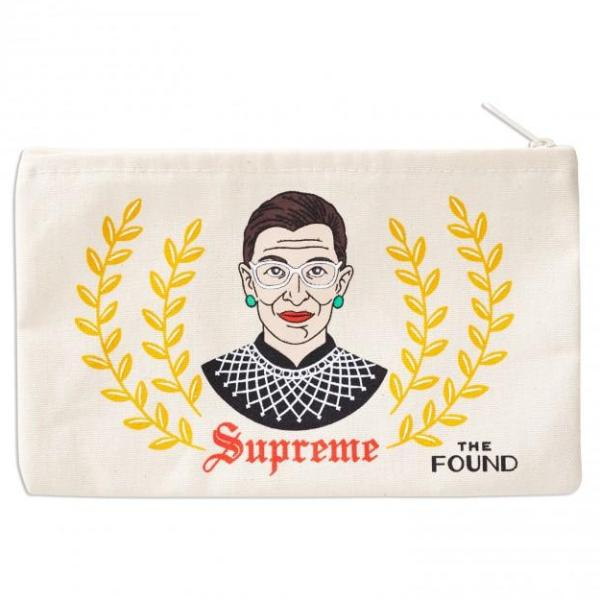 The Found: Ruth Bader Ginsburg Pouch