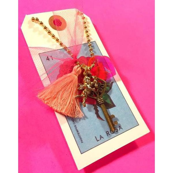 "Little Lux: ""Key to My Heart"" Necklace"