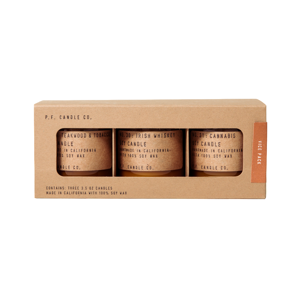 P.F. Candle Co.: Vice Pack Mini Gift Set