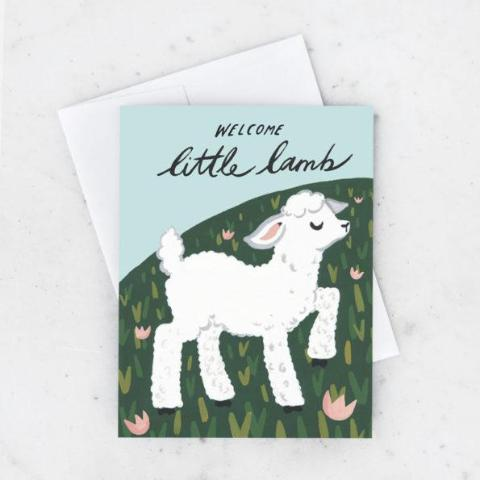 Idlewild: Welcome Little Lamb Card