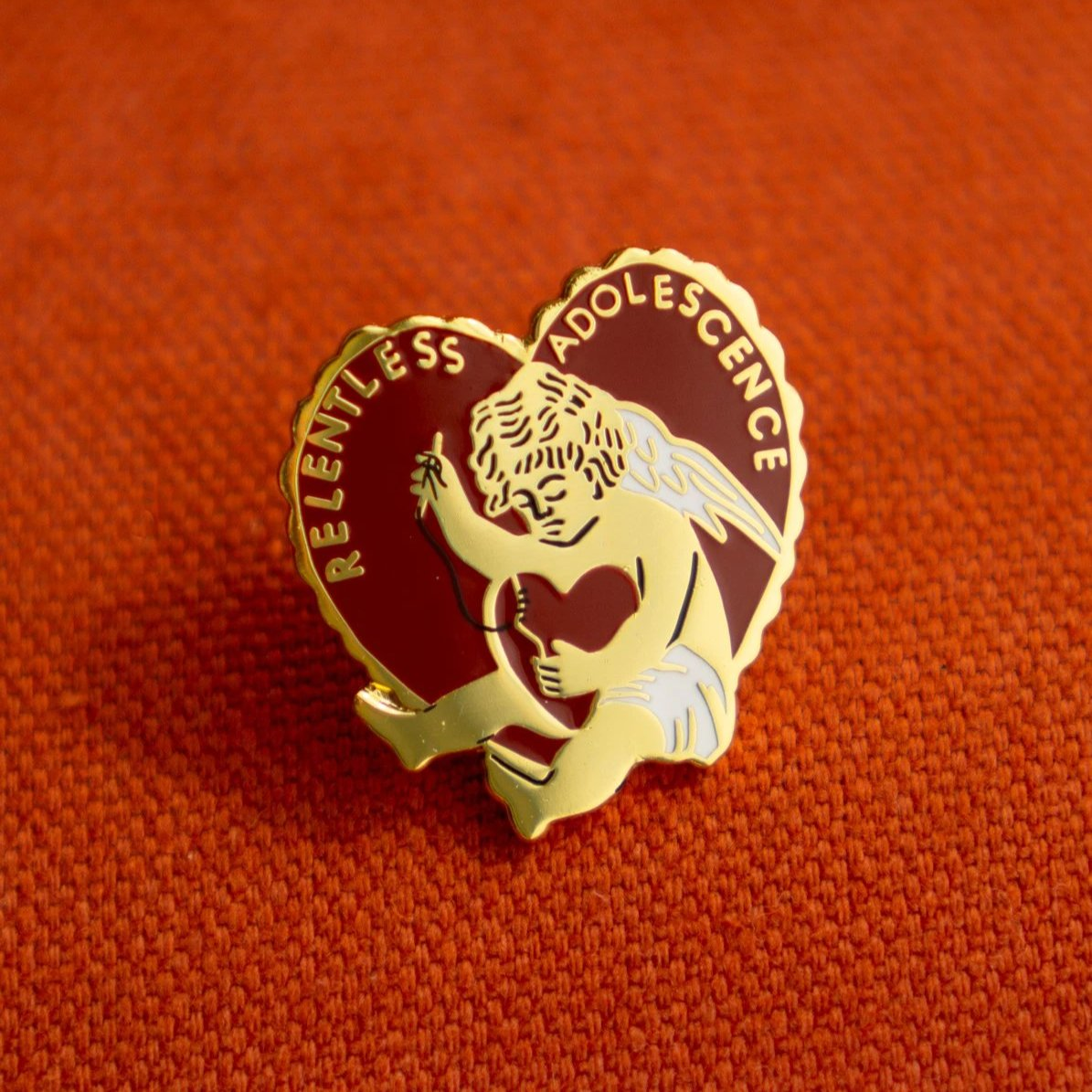 Stay Home Club: Relentless Adolescence Lapel Pin