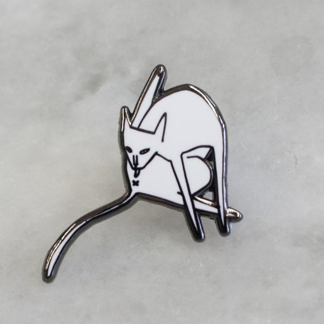 Stay Home Club: Bathing Lapel Pin
