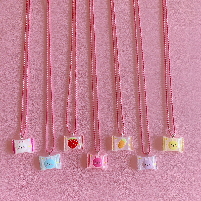 Pop Cutie: Gacha Bunny Candy Necklaces