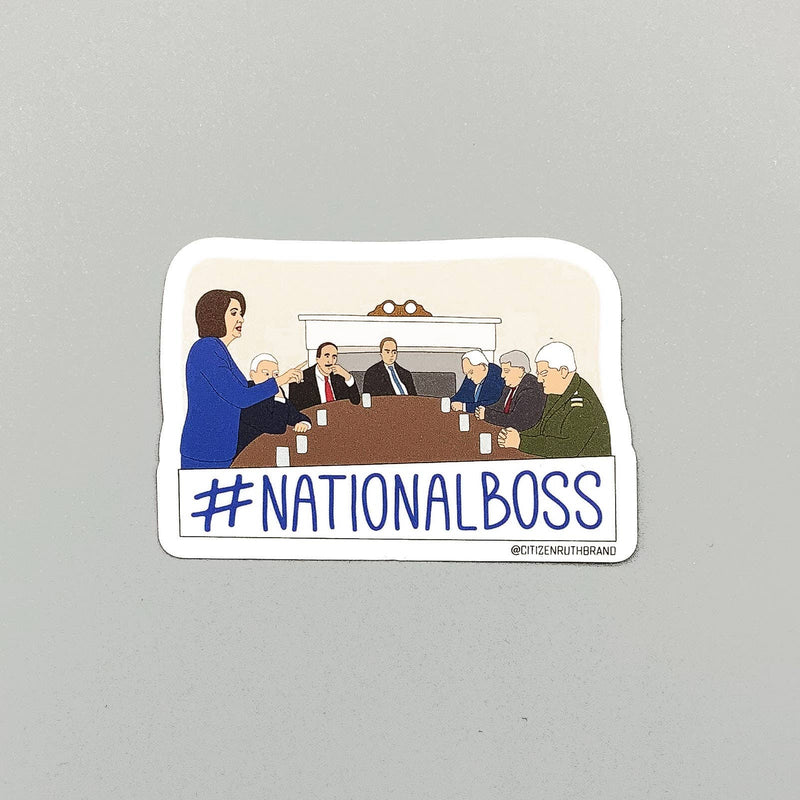 Citizen Ruth: Pelosi National Boss Sticker