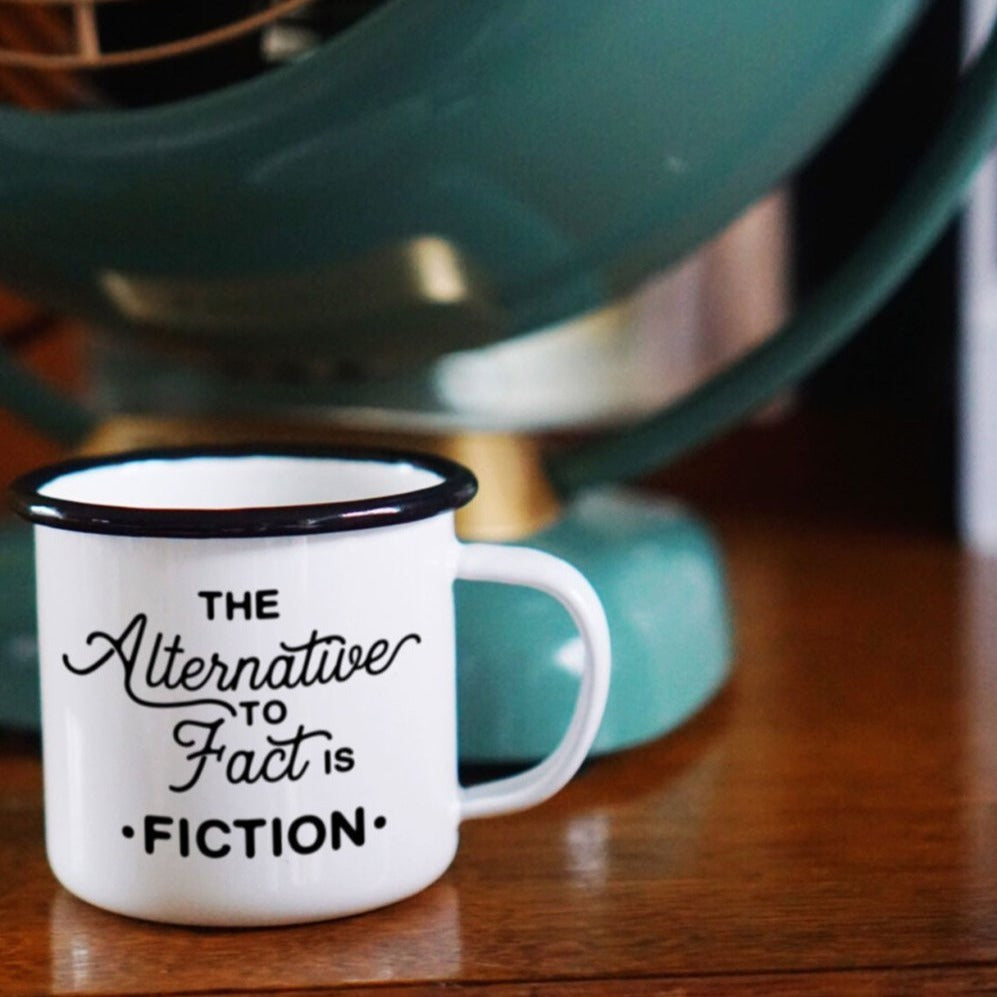 Enamel Co.: - 12oz - Alternative Facts Enamel Mug