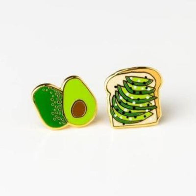 Yellow Owl Workshop: Avo Toast Earrings