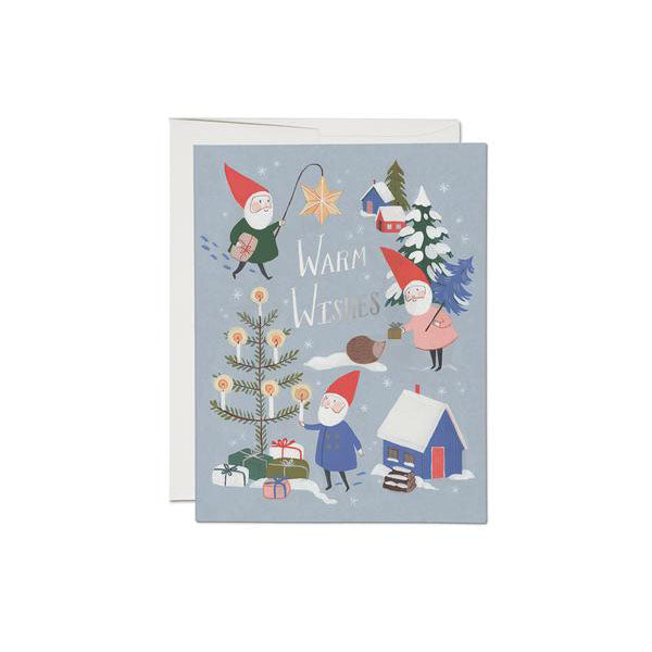 Red Cap Cards - Holiday Gnomes - Boxed Set