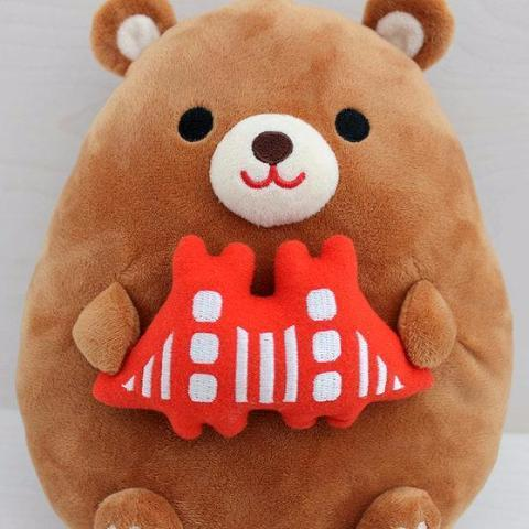 Tomoko Maruyama Design: California Bear Plush Toy, Large