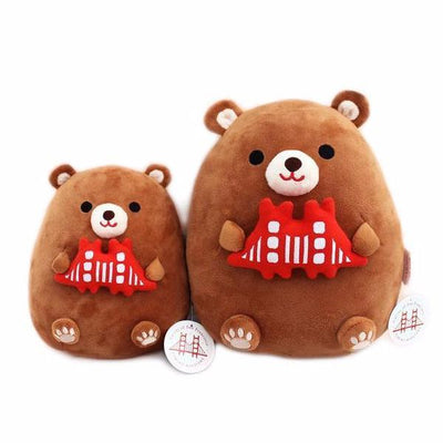 Tomoko Maruyama Design: California Bear Plush Toy, Small