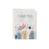 Red Cap Cards: Coral Reef Thank You Box Set of 8