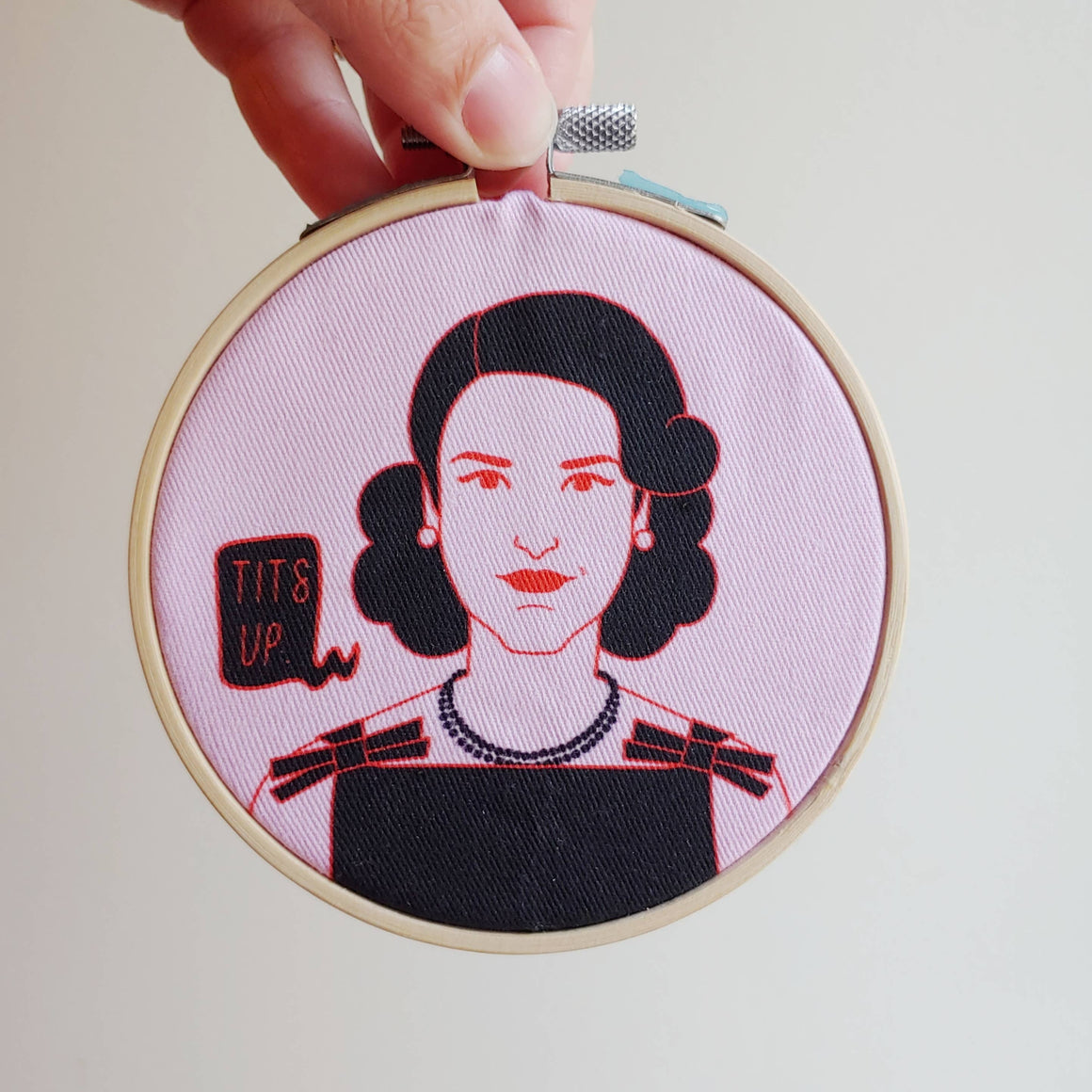 Holly Oddly: Mrs. Maisel Embroidery Kit