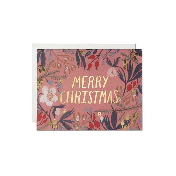 Red Cap Cards - Christmas Flowers - Boxed Set