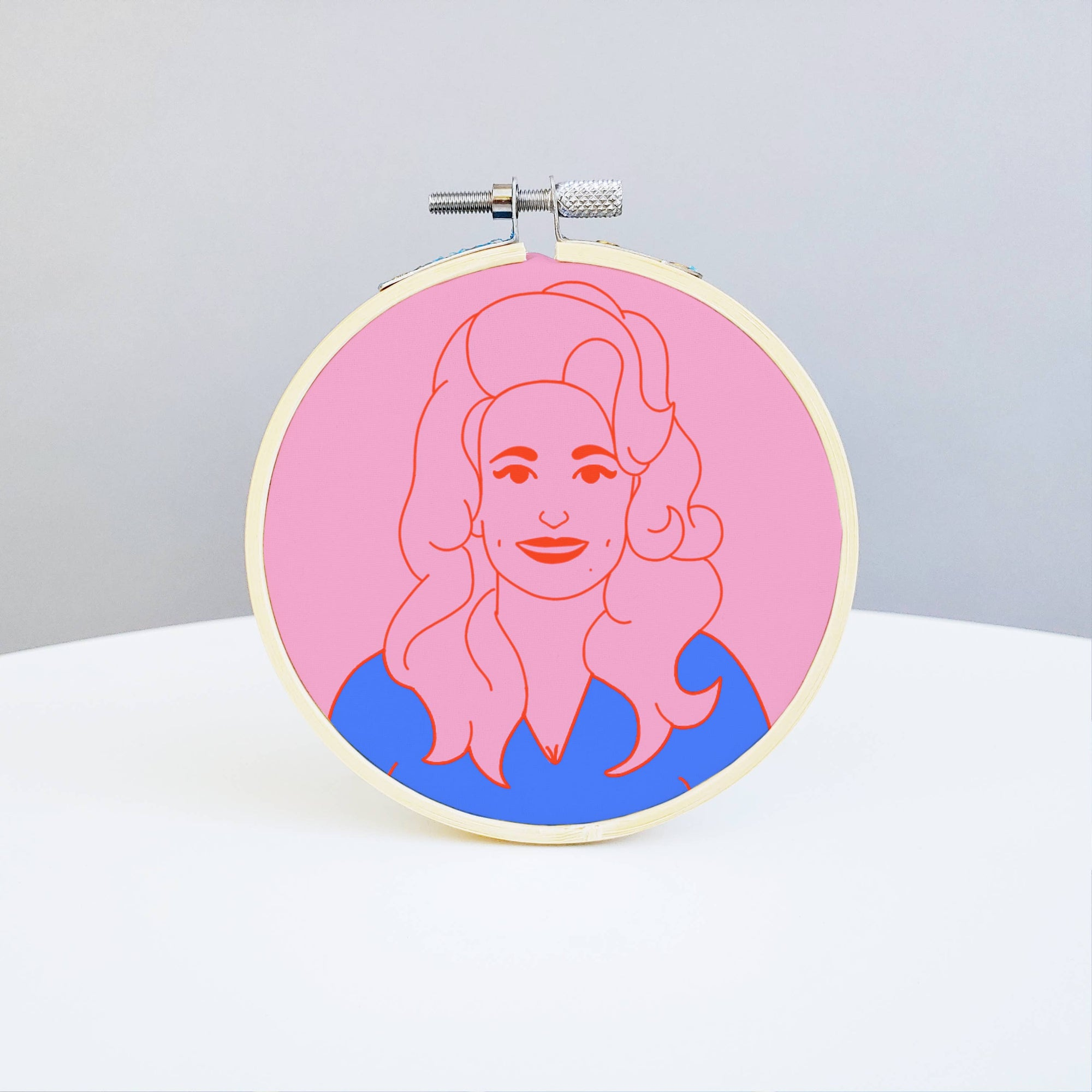 Holly Oddly: Dolly Parton Embroidery Kit