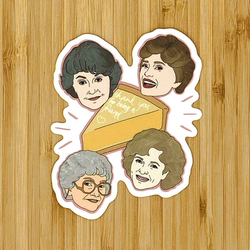 Citizen Ruth: Golden Girls Sticker