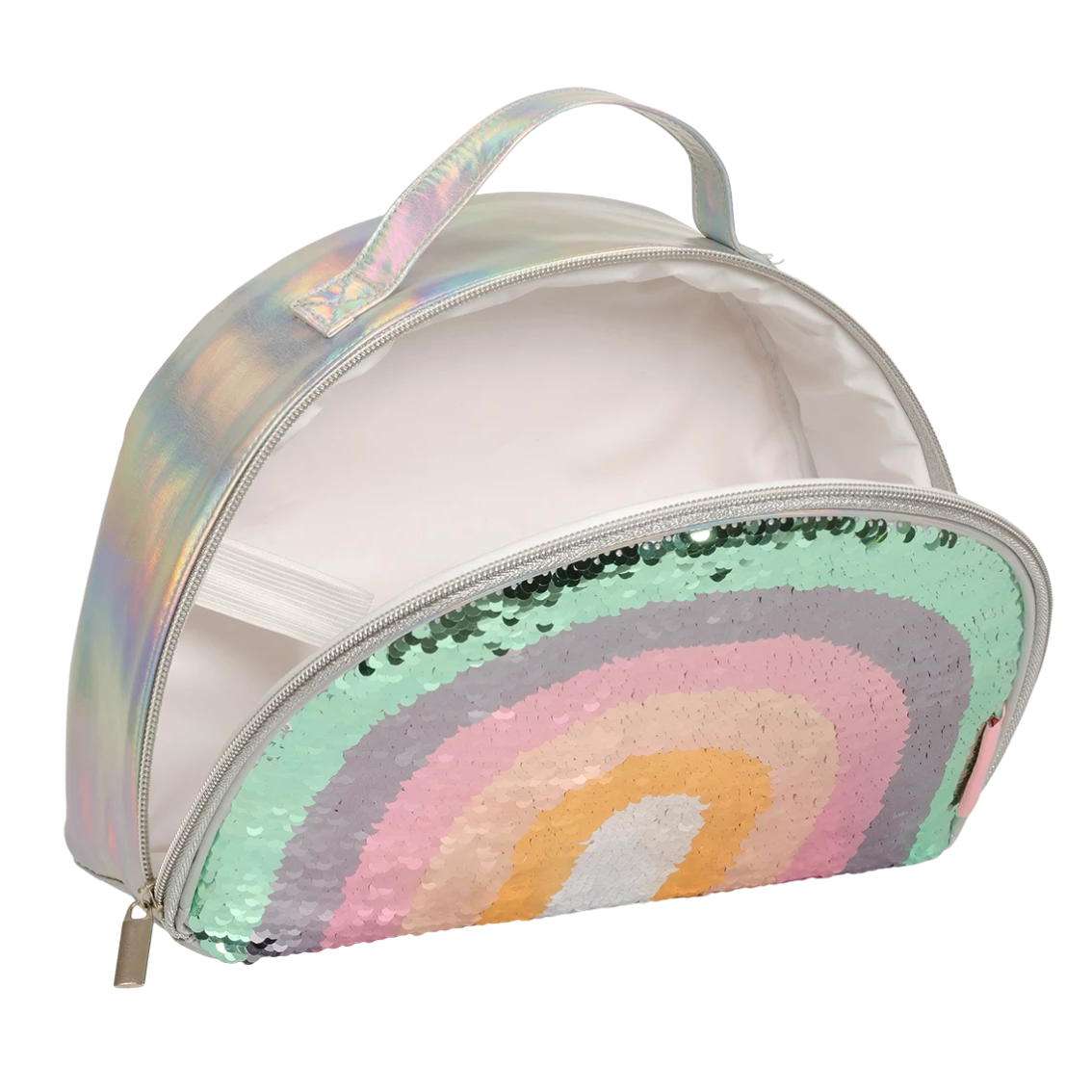 A Little Lovely Company: Cool Bag, Rainbow Sequin