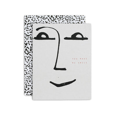 Moglea: The Smile Greeting Card