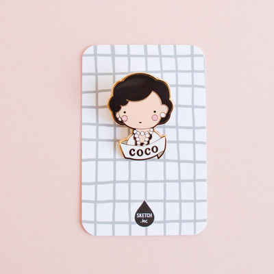 Sketch Inc: Coco Brooch