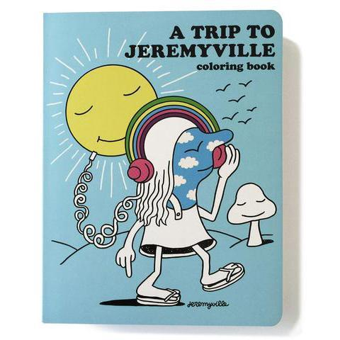Jeremyville: A Trip To Jeremyville Colouring Book