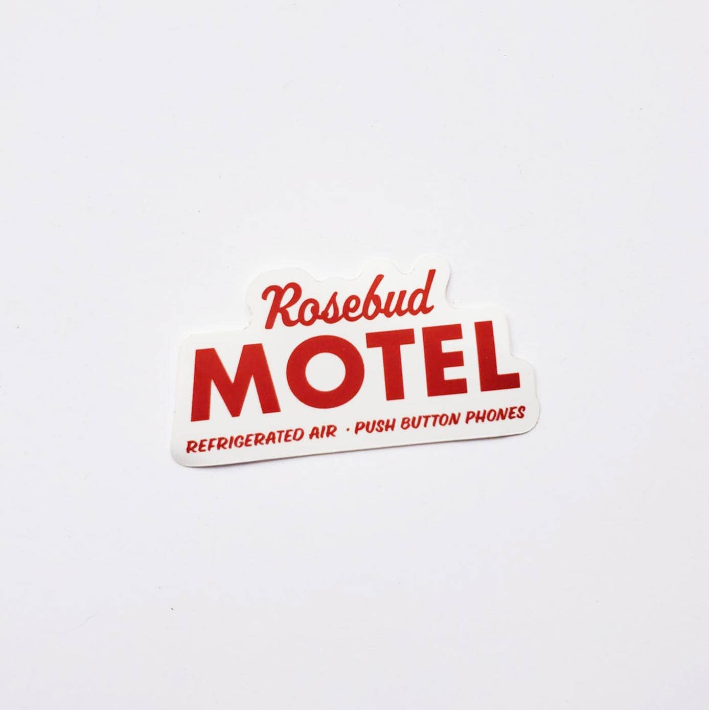 Party Mountain Paper Co.: Rosebud Motel Sticker