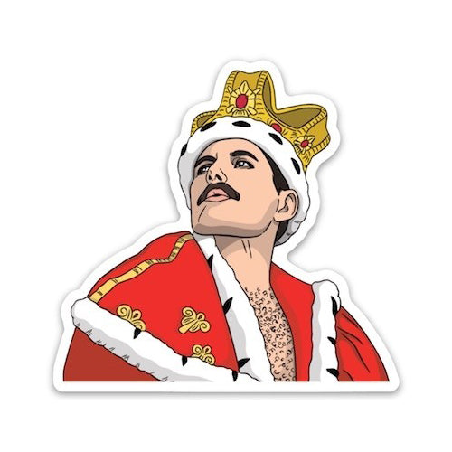The Found: Die Cut Sticker - Freddie Mercury