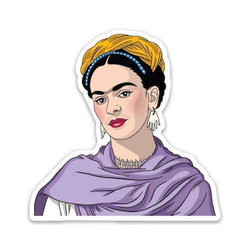 The Found: Die Cut Sticker - Frida Shawl