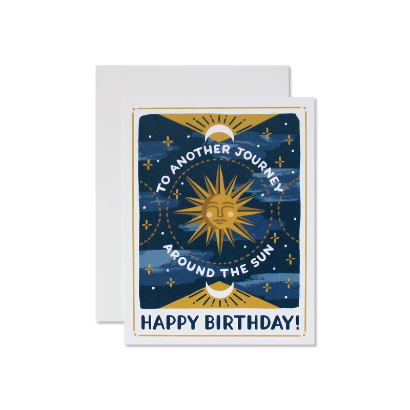 Wild Hart Paper: Celestial Birthday Card