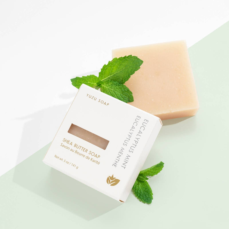 Yuzu Soap: Eucalyptus Mint - Shea Butter Soap